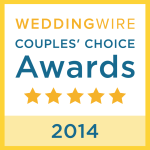 weddingwire.com couples choice award 2014